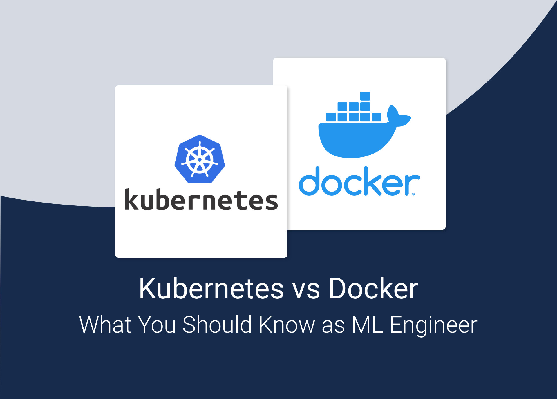 Kubernetes vs Docker   What You Should Know as a Machine Learning ...