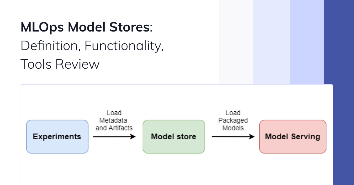 MLOps Model Stores: Definition, Functionality, Tools Review