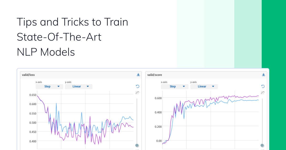 Tips and Tricks to Train State-Of-The-Art NLP Models